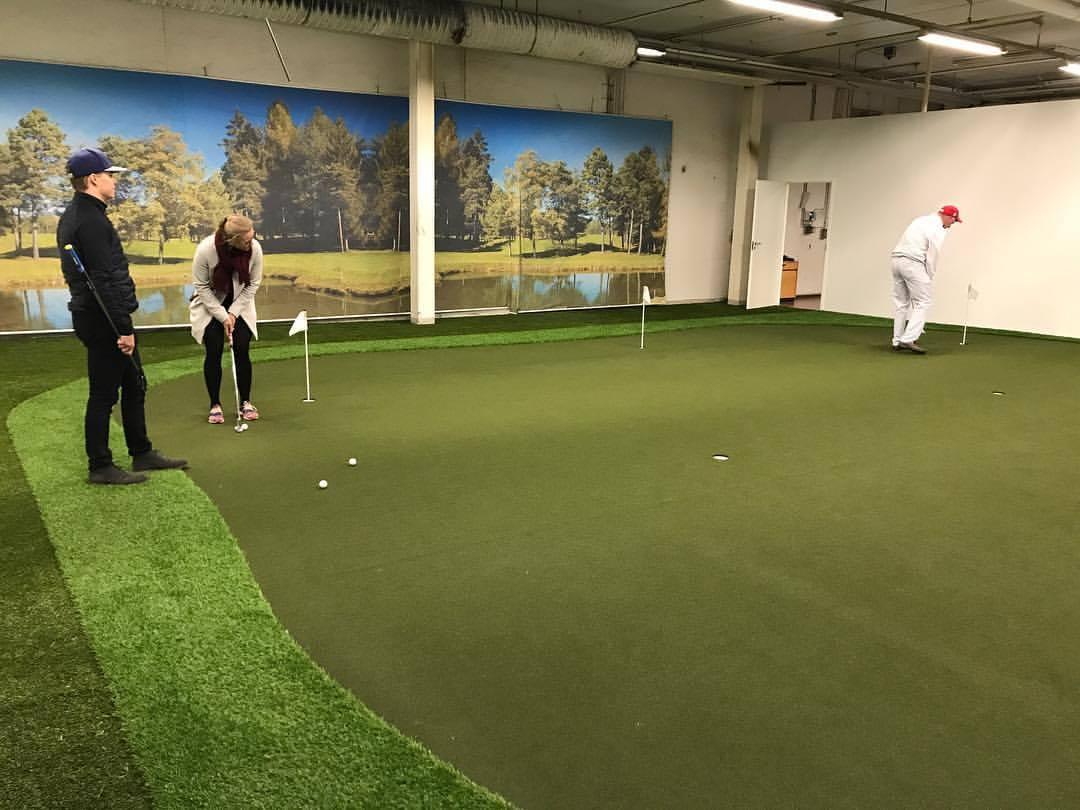 Swingmakers golfhalli Lappeenranta